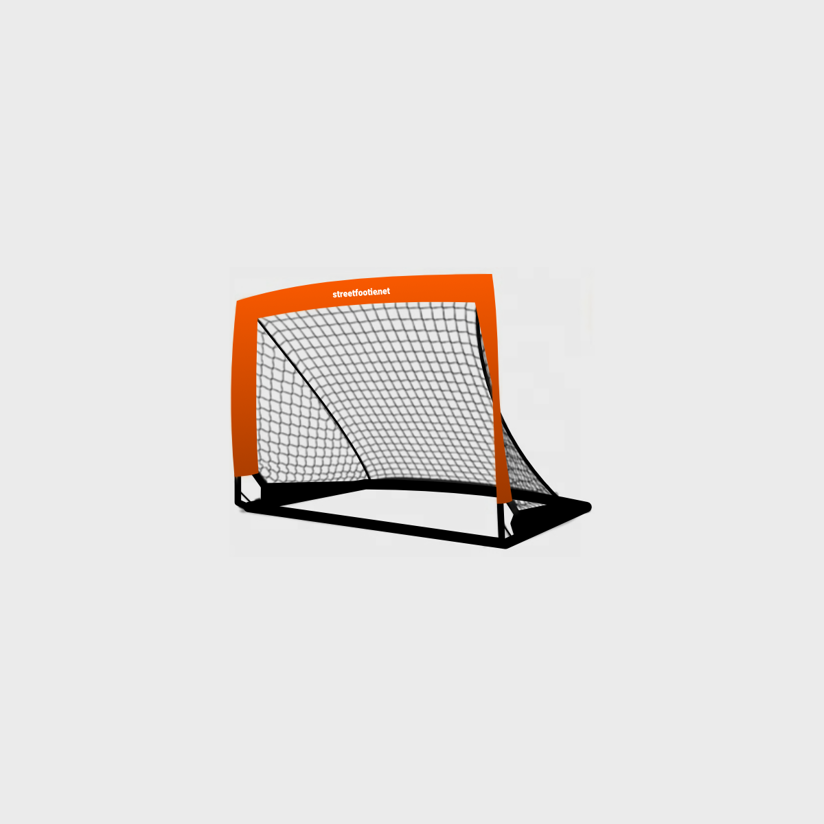 An image to showcase the Hi-Vis Street Soccer Popup Goal. Links to the product page.
